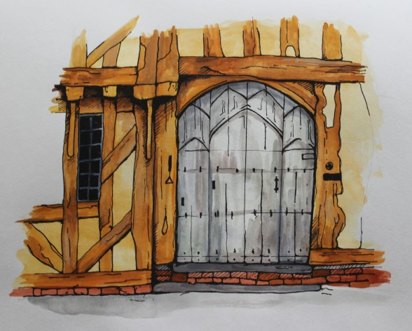 Lavenham Door 2
